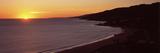 Beach at Sunset, Malibu Beach, Malibu, Los Angeles County, California, USA Photographic Print by  Panoramic Images