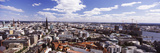 Buildings in a City, Hamburg Harbour, Elbe River, Hamburg, Germany Photographic Print by  Panoramic Images