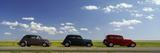 Three Hot Rods Moving on a Highway, Route 66, USA Photographic Print by  Panoramic Images