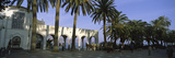 Palm Trees in Front of a Building, Nerja, Costa Del Sol, Malaga Province, Andalusia, Spain Photographic Print by  Panoramic Images