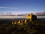 Castle on a Hill, Loarre Castle, Huesca, Aragon, Spain Photographic Print by  Panoramic Images