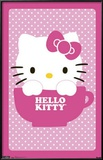 Hello Kitty Teacup Art Print Poster Poster