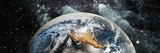 Earth in Space Photographic Print by  Panoramic Images
