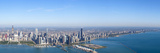 Aerial View of a Cityscape, Trump International Hotel and Tower, Willis Tower, Chicago, Cook Cou... Photographic Print by  Panoramic Images