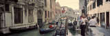 Buildings Along a Canal, Grand Canal, Rio Di Palazzo, Venice, Italy Photographic Print by  Panoramic Images