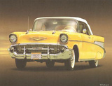 1957 Yellow Checy Print