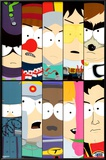 South Park - Superheroes Prints