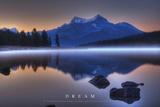 Dream - Mountains Landscape Plakát