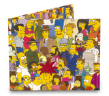 Simpsons Cast Tyvek Mighty Wallet Wallet