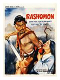 Rashomon, Japanese Movie Poster Giclee Print
