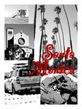 Visit Santa Monica 6 Giclee Print by Victoria Hues