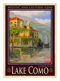 Lake Como Italy 2 Giclee Print by Anna Siena