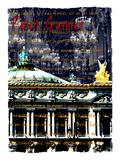 Palais Garnier Paris, Opera House 1 Giclee Print by Victoria Hues