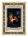 The Birth of Jesus Giclee Print by Carl Bloch
