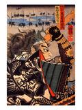 Amakasu Omi No Kami Giclee Print by Kuniyoshi Utagawa