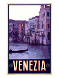 Canal in Venice Italy 4 Giclee Print by Anna Siena