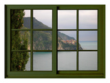 View from the Window Corniglia at Cinque Terre Giclee Print by Anna Siena