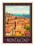 Anna Siena - Montalcino Tuscany 1 Digitálně vytištěná reprodukce