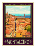 Montalcino Tuscany 1 Giclee Print by Anna Siena