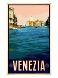 Canal in Venice Italy 2 Giclee Print by Anna Siena