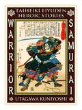 Samurai Sakuma Morimasa Giclee Print by Kuniyoshi Utagawa
