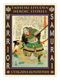 Samurai Shiouden Masataka Giclee Print by Kuniyoshi Utagawa