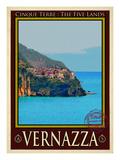 Vernazza Italian Riviera 2 Giclee Print by Anna Siena