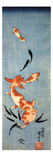 Gold Fish Giclée-Druck von Kuniyoshi Utagawa