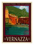 Vernazza Italian Riviera 1 Giclee Print by Anna Siena