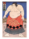 The Sumo Wrestler 2 Giclee Print by Kuniyoshi Utagawa