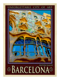Barcelona, España 5 Lámina giclée por Anna Siena