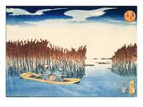 Seaweed Gatherers at Omori Giclee Print by Kuniyoshi Utagawa
