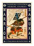 Samurai Sakurai Iekazu Giclee Print by Kuniyoshi Utagawa