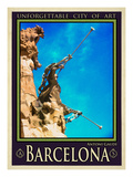 Barcelona Spain 4 Giclee Print by Anna Siena