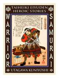 Samurai Asakura Yoshikage Giclee Print by Kuniyoshi Utagawa
