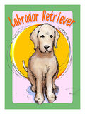 Labrador Retriever 3 Giclee Print by Cathy Cute