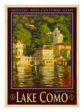 Lake Como Italy 1 Giclee Print by Anna Siena