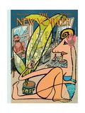 The New Yorker Cover - August 1, 1994 Premium Giclee Print by Javier Mariscal