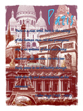 Paris France 5 Giclee Print by Victoria Hues