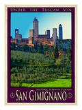 San Gimignano Tuscany 10 Giclee Print by Anna Siena