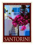 Santorini Greece 3 Giclee Print by Anna Siena