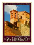 San Gimignano Tuscany 12 Giclee Print by Anna Siena