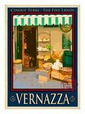 Vernazza Italian Riviera 3 Giclee Print by Anna Siena