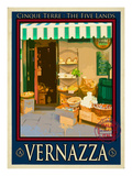 Vernazza Italian Riviera 3 Stampa giclée di Anna Siena