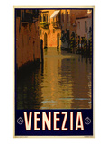 Canal in Venice Italy 1 Giclee Print by Anna Siena
