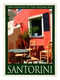 Santorini Greece 4 Giclee Print by Anna Siena