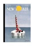 The New Yorker Cover - August 13, 2012 Regular Giclee Print by Ian Falconer