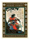 Samurai Sakai Masanao Giclee Print by Kuniyoshi Utagawa