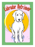 Labrador Retriever 4 Giclee Print by Cathy Cute