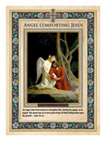 Gethsemane: Angel Comforting Jesus Giclee Print by Carl Bloch